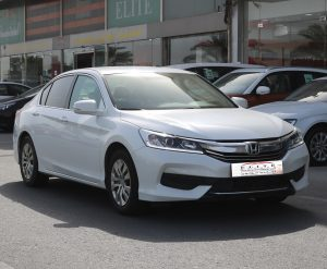 Honda Accord Mid Options