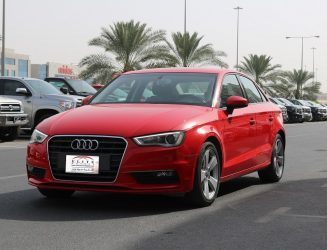 Audi A3 2015 Red