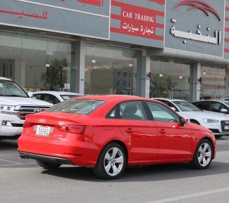 Audi A3 2015 Red