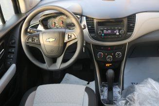 Chevrolet Trax LT 1.8 L (silver)